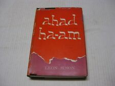 Ahad Ha-Am(Asher Ginzberg): A biography by Leon Simon
