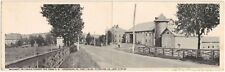 """Sellcroft"" Farm on Lincoln Highway in Greensburg PA Foldout Postcard"