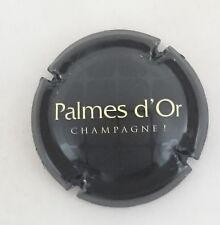 capsule champagne NICOLAS FEUILLATTE cuvée palmes d'or n°34 lettres crème