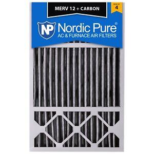 16X25x5 Carbon Air Filter Furnace Merv 12 11 13 Honeywell X6670  FC100a1029 4 8
