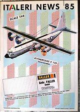 Brochure Italeri News 85 - Faller - 6 pages -