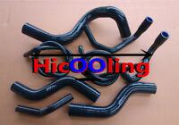 For HOLDEN COMMODORE VZ 3.6L V6 2004-2006 silicone radiator heater hose Black