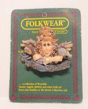 Boyds Bears FolkWear Madge Beautician Not Magician Hairdresser Bear Pin #26406
