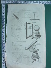 c1778 PRINT ~ ASTRONOMY EARTH ECLIPSE MOON EQUINOX EQUATORIAL ECLIPSAREON