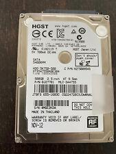 interne Festplatte, HDD, 2,5 Zoll, SATA, 5400RPM, 500GB, HGST
