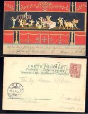 CNA 081 napoli pompei storia postale to germania 1900