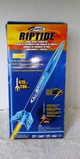 RIPTIDE FULLY ASSEMBLED MODEL ROCKET LAUNCH SET PRODUCED BY ESTES new