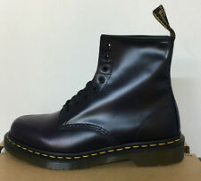 DR. MARTENS 1460 DRESS BLUE BUTTERO  UNISEX LEATHER  BOOTS SIZE UK 8