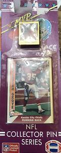 Vintage 1991 NFL Collector Pin Series Christian Okoye Unopened