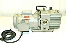 Leybold Trivac Vacuum Pump Model D2a 13 Hp Baldor Motor 120v