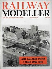 *RAILWAY MODELLER MAGAZINE - JUNE 1967 - ft 4mm SCALE THISTLEDOME & FISHOEK [U]