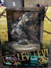 Kotobukiya ARTFX Attack on Titan Levi 1/8 scale Figure Authentic USA Seller