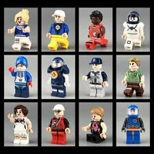 New 12 pcs Normal Sport People Characters City Serie Mini Figures Fit LEGO Toys