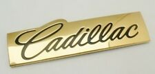 CADILLAC 24K GOLD PLATED European Emblem SUPER RARE