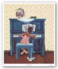 Rhapsody in A Minor Annie Lee African American Art Print
