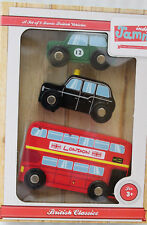 Indigo Jamm Holzautos Englische Klassiker British Classics IIJ8021 NEU