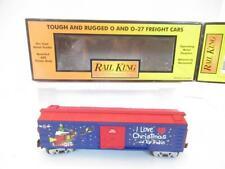 MTH TRAINS 30-7451- YEAR 2000 I LOVE TOY TRAINS CHRISTMAS BOXCAR- 0/027- LN- D1B