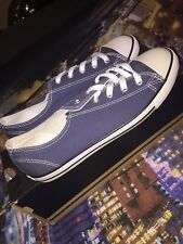 New Womens Converse Danity Ox Size 5 Navy White