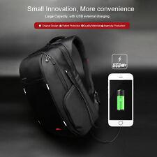 "15.6"" USB Charging Shoulder Bag Notebook Backpack Laptop Bag Outdoor Waterproof"