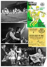 Hibernian FC 1972 Scottish League Cup Final Limited Edition A4 Print