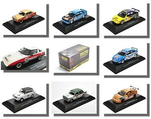 British Touring Cars, 1/43 Scale, Champions, Atlas Editions.