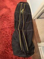 Wilson Ultra BLK Golf Travel Bag with Wheels - Black