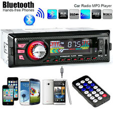 Car Stereo Audio In-Dash FM Aux Input Receiver SD USB MP3 Radio Player 12V  #623