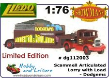 Lledo Days Gone. 112003 1/76 Scammell Articulated Lorry With Load - Dodgems