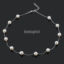 New Fashion Charm Jewelry Pendant Pearl Choker Necklace Clothing Accessories FR
