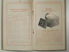 Accumulatori Hensemberger. Accumulatori e batterie per radio, Monza, 1929