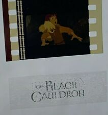 Disney Animation Authentic 1985 5-Cell Strip THE BLACK CAULDRON Taran & Gurgi