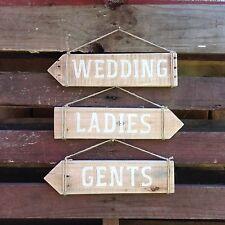 WEDDING SIGNS (Rustic Wood) Made in Australia!