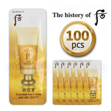 [The History of Whoo] Essential Sun Cream 1ml x 100pcs SPF50+, PA+++