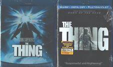 THING, THE 1 & 2: John Carpenter/Kurt Russell Classic+the Prequel- NEW 2 BLU RAY