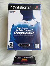 Jeu Roger Lemerre 2004 pour Sony Playstation 2 PS2 Complet CIB - Floto Games