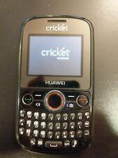 Huawei Pillar - Black (Cricket) Cellular Phone