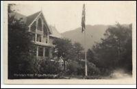 Norwegen Norge ~1928 Eide Hardanger Hotel Maelands Vintage Postcard Norway