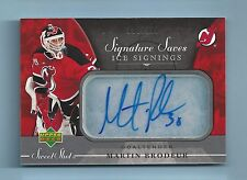MARTIN BRODEUR 2006/07 SWEET SHOT ICE SIGNINGS SIGNATURE AUTOGRAPH AUTO /100
