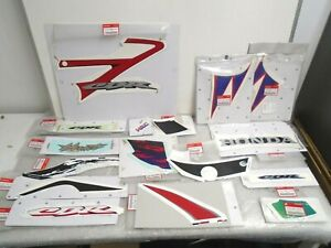 Genuine Honda Motorcycle Decals, Stickers Job Lot Warehouse Clearance New OE