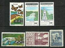 World Wide stamps from Mexico - group of 6 issues