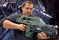 Alien 3 M41-A Pulse Rifle 1: 1 Assembled To Assemble 3D Paper Model DIY Toy