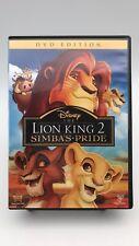 The Lion King II Simba's Pride DVD