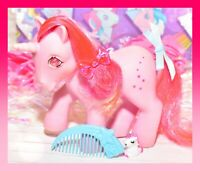 ❤️My Little Pony MLP G1 VTG 1985 GALAXY Twinkle Gem Eye Pink Unicorn COMB❤️