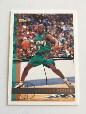 1997 Topps NBA Basketball Card #78 Anthony Peeler Vancouver Grizzlies