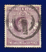 1902 SG260 2s6d Slate Purple M48(2) Good Used CV-FU £150 cdmu