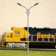 S214 - 10-pc Fouet brillance avec LED blanc chaud 2 flammes Artist 10cm Jeu