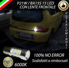 LAMPADA RETROMARCIA 15 LED P21W BA15S CANBUS FIAT SEICENTO 600 NO ERROR