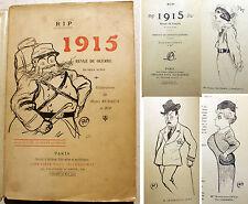 14-18/1915/REVUE DE GUERRE/ILLUSTRE PAR RIP ET H.RUDAUX/ED OLLENDORFF/1915/EO