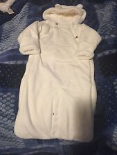Baby Gap Snow Winter Suit Off White Size 6-12 Months NEW