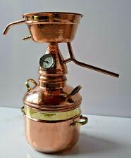 Gebrauchte Dr. Richter 2L High-End Alquitara Destille mit Thermometer 2 Liter